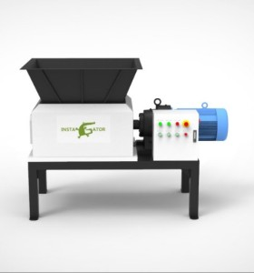 twin shaft plastic shredder  for plastic  recycling