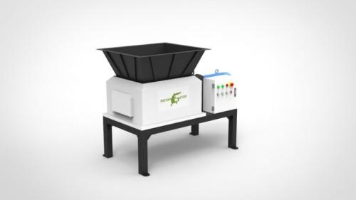 twin shaft plastic shredder  for plastic  recycling