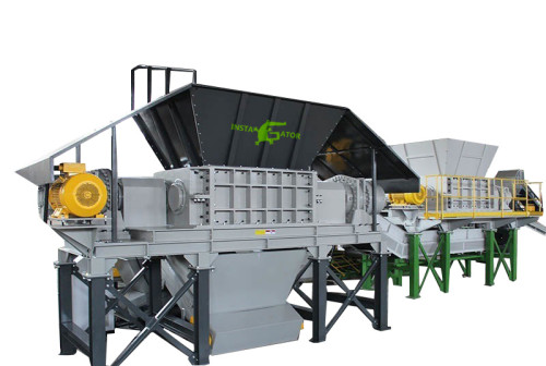 Industrial tire waste solution tyre crushing machine plastic powder equipment