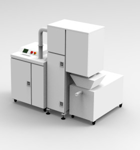 High Security P5 Paper Disintegrator paper document crusher