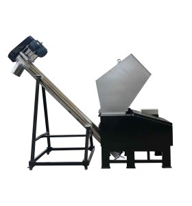 High efficiency PVC sheets granulator