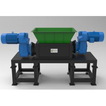 Two Shaft Shredders Medium duty for recycling applications.