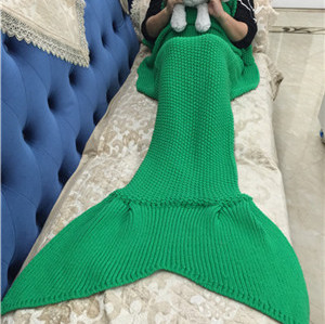 Custom Chrochet Mermaid Tail Blankets