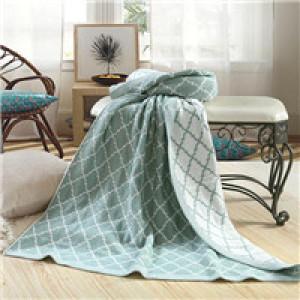 jacquard woven blanket acrylic