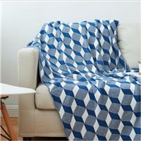 85% acrylic &15% polyester wool acrylic blanket