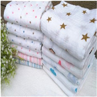 muslin swaddle blanket cotton double