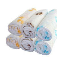 8-layer 100% cotton muslin swaddle blanket