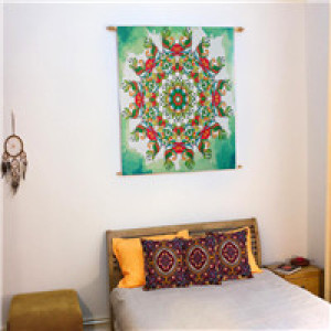 gobelin elephant  wall hanging tapestry