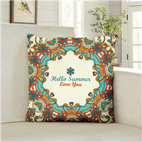 China Digital printing pillow case, custom printed pillow cases