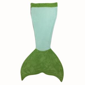 green little mermaid blankets baby blanket sleeping bag