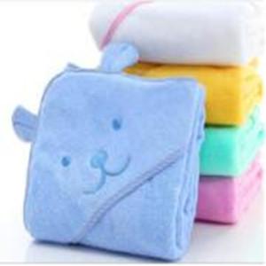 baby bath towel hooded /bamboo baby hooded towel 34