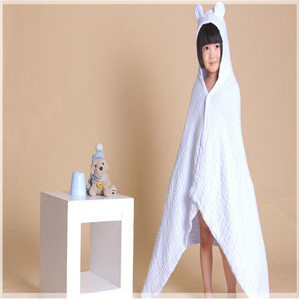 adult hooded poncho beach towel/hooded baby towel 34