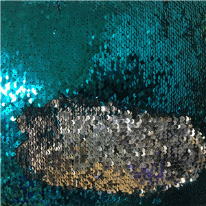 wholesale mermaid reversible sequin tulle fabric