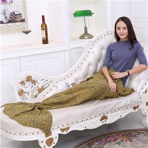 baby mermaid costume crochet sleeping bag