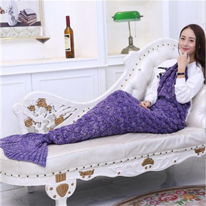 little mermaid tail blanket costume