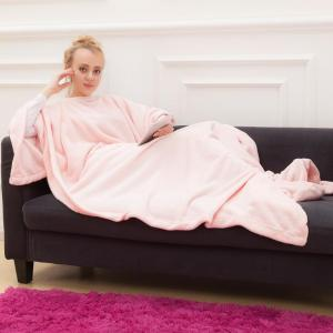 Snuggie Fleece Blanket with Sleeves Adult