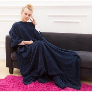 Snuggie Fleece Blanket with Sleeves