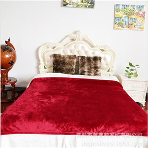 super soft coral fleece blanket for adults