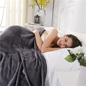 super soft thick fleece blanket for adults