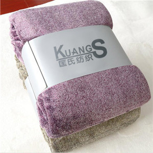 100 polyester roll up fleece blanket