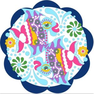 wholesaler custom print cotton round beach towel