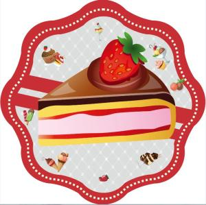 Delicious Mousse Cake Custom Printing Beach Towel