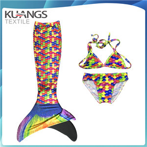 hot sale swimmable mermaid tail with monofin for girls
