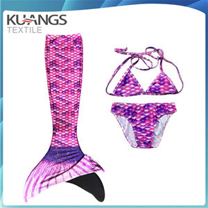 fashion blue mermaid tails swimsuit for kis,adults