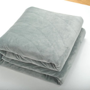 Weighted Fleece Blanket for Autism & Anxiety - Great for Sensory Processing Disorder - Perfect for Adults