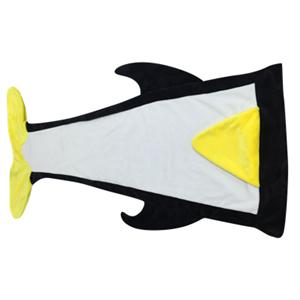 Custom animal blanket penguin blanket
