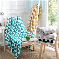 wool acrylic blanket 85% acrylic &15% polyester blanket acrylic