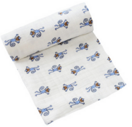 twin full queen king size print muslin blanket