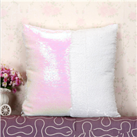 hot sale mermaid reversible sequin pillow