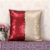 custom made  decorative sequin  pillow