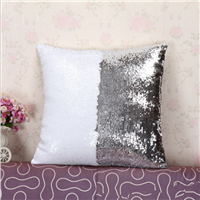 custom made instock sequin pillow case, mermaid pillow
