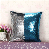 custom made  sequin mermaid pillow case