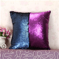 reversible sequin body pillow