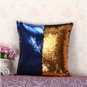 reversible sequin cushions home decor pillow