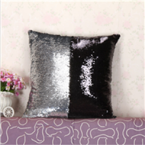 mermaid sequin sleeping pillow