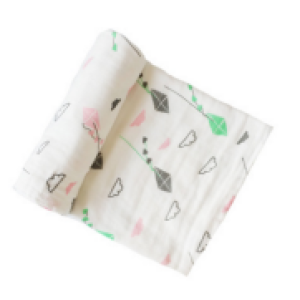 6-layer organic cotton muslin swaddle blanket