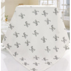 cotton baby swaddle blanket muslin