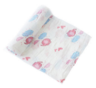 4-layer muslin swaddle 100% cotton blanket