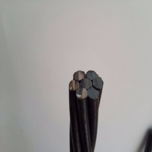 LRPC 1860mpa 9.53mm 7wire pc strand for rock-soil anchoring project
