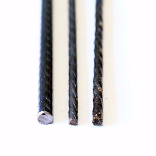SWRH82B high tensile low relaxation spiral pc wire for precast pc wire
