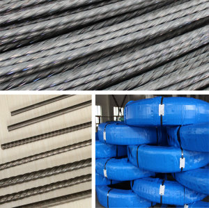 metal building material low relaxation pc steel wire ASTM A421 Spiral Ribbed PC Wire