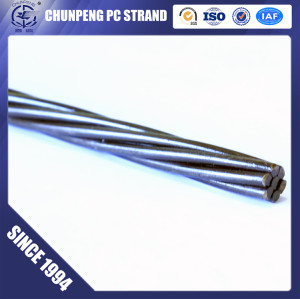 12.7MM Steel Strand and Wire for Prestressed Concrete