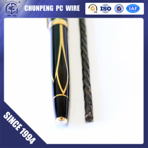 High Quality Lowest Price 7MM Spiral Steel Wire High Tensile Steel Wire for Post Tensioning