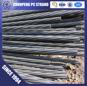 High Tensile Low Relxation PC Steel Strand for Presterssed Concrete in Road Project