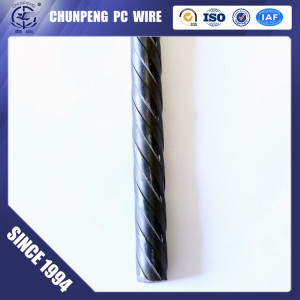 Spiral and Indented PC Wire  for Road and Bridge Construction
