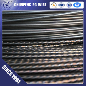 High Carbon Spiral PC Steel Wire with Cheap Price
